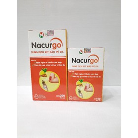 Nacurgo xịt kháng khuẩn liền sẹo - nacurgo