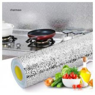 [FREESHIP] Cuộn giấy bạc 3 mét dán bếp cách nhiệt - 1 cuộn giấy bạc - giaybacdanbep thumbnail