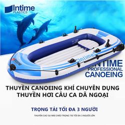 Thuyền hơi thuyền phao xuồng bơm hơi thuyền câu cá INTIME chứa 3người 4 người lớn dày hơn rộng hơn cao cấp chắc chắn thuyền dã ngoại tuyệt vời