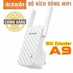 [Giao Hàng 3h HN] Bộ kích sóng Wifi Tenda A9 Chuẩn N 300Mbps - Hàng Chính Hãng