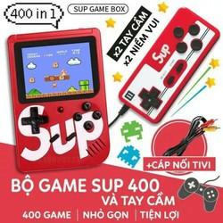 [ Game ] Máy chơi game Sup 400 in 1 retro kèm tay cầm chơi 2 người - GAME401