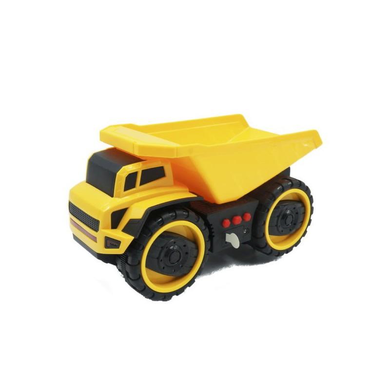 Xe ben đồ chơi nhựa có đèn nhạc Bei Yu – Xe ben đồ chơi nhựa có đèn nhạc Bei Yu