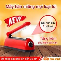 Máy hàn miệng túi đa năng HS30, dùng được cho mọi loại túi, phù hợp nhu cầu gia đình, hộ kinh doanh. Hàng chính hãng SGE Thailand.
