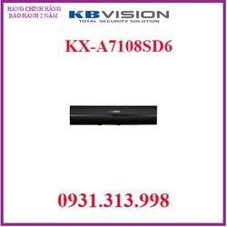 ĐẦU GHI HÌNH 8 KÊNH KX-A7108SD6 KBVISION
