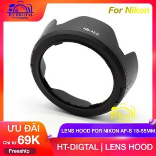 HOOD NIKON AF-S 18-55 HB-45II - For Nikon D3200 D3100 D5100 D5000 thumbnail