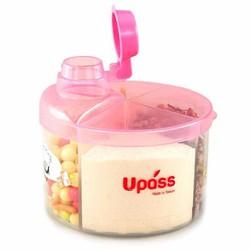hộp chia sữa và thực phẩm 4 ngăn