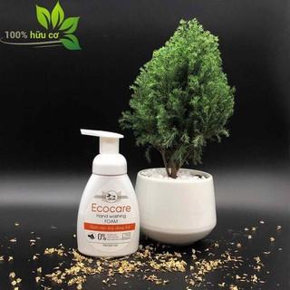 Nước rửa tay diệt khuẩn - tạo bọt, hương cam, thương hiệu Ecocare ( 250ml) - SD144 thumbnail