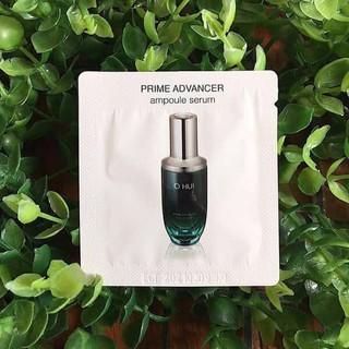 Combo 10 Gói Tinh Chất O hui Prime Advancer Ampoule Serum Sample 1ml cải thiện độ đàn hồi cho da, sáng da, cấp ẩm. - 009 thumbnail