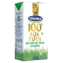 Sữa tươi tiệt trùng có đường Vinamilk 1.000 ml