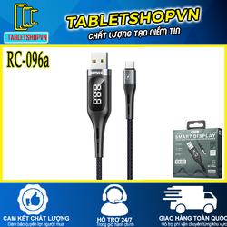CÁP SẠC USB TYPE C RC-096a