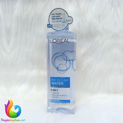 Nước Tẩy Trang L'Oreal Micellar Water 3 in 1 Tươi Mát Da 400ml