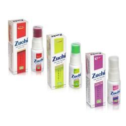 XỊT KHỬ MÙI ZUCHI KHÔNG CỒN - Sản phẩm của Dược phẩm Hoa Linh giúp khử mùi nhanh chóng, ngăn ngừa hôi nách, hôi chân, dưỡng da, giúp làm sáng da, bảo vệ da, giúp da luôn khô thoáng - Chai 20mL ( Màu ngẫu nhiên)