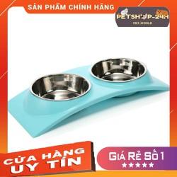 Bát Ăn Đôi Dành Cho Thú Cưng Chó Mèo Mã Babs105