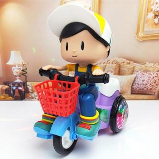 đồ chơi - đồ chơi cậu bé đạp xe - đồ chơi cậu bé đi xe đạp thumbnail