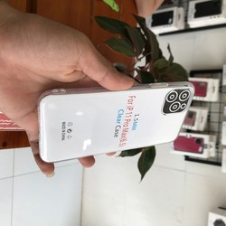 ỐP LƯNG IPHONE - COUPLE 2 ỐP DẺO TRONG CAO CẤP IPHONE 11PROMAX