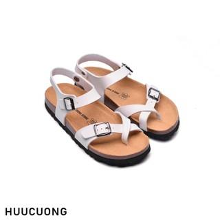 Sandal xỏ ngón trắng - 2132 thumbnail