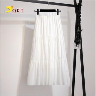 Chân váy nữ suông lưng chun QKT Cv01 - cv01. thumbnail
