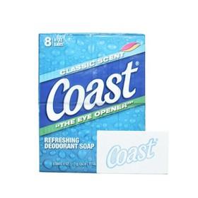 Lốc 8 cục xà phòng Coast Refreshing Deodorant Soap nhập Mỹ - Xà phòng Coast lốc 8 cục