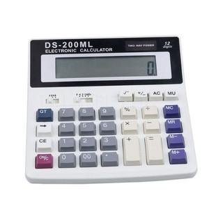 MÁY TÍNH TOÁN DS-200ML LOẠI ĐẸP CHUẨN TẶNG PIN - 500 thumbnail