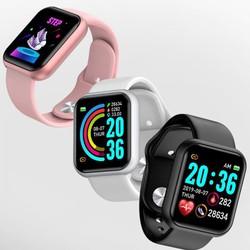 Đồng hồ thông minh Y68- theo dõi sức khỏe đo nhịp tim, bước chạy, nhắn tin, chống nước
