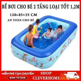 BỂ BƠI PHAO CHO BÉ - bể bơi cho bé thumbnail