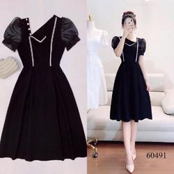 Đầm Xòe Nữ Tay Phồng Công Chúa Siêu Xinh Đủ Size   60491