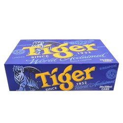 BIA TIGER DATE GẦN 330ML - HSD 3/9/2020