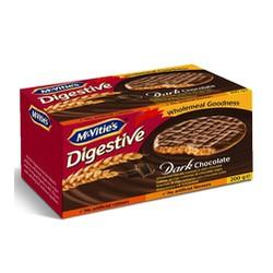 Bánh quy lúa mỳ Digestive vị sô cô la Sữa hiệu McVities – hộp 200g