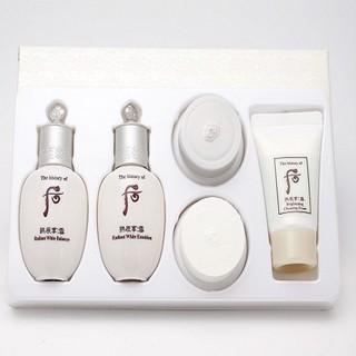 [Xã Kho] Bộ Trắng Da Trị Nám Whoo Radiant White Special Gift Set 5pcs Cho Làn Da Ẩm Mịn Và Làm Sạch Vết Nám - 021 thumbnail