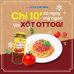 Xốt Spaghetti ottogi 400g (trộn bún mì nưa ngon tuyệt)