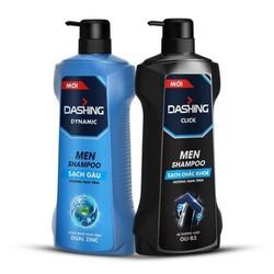 [Free Ship] Dầu Gội Sạch Gàu, cho tóc chắc khỏe Cho Nam Giới Dashing Dynamic Men Shampoo 650g/ 180G