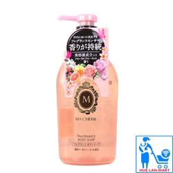 Sữa Tắm Dưỡng Ẩm Trắng Da Shiseido Ma Chérie Chai 450ml