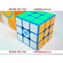 Rubik 3x3 Gan Monster Go Xanh Có Nam Châm