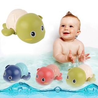 Rùa con bơi lội dưới nước vặn cót thông minh trong khi tắm cho trẻ em bé trai gái - 333 thumbnail