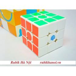 Rubik 3x3 Gan Monster Go Trắng Có Nam Châm