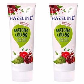 Sữa rửa mặt sáng da Hazeline Matcha lựu đỏ 80g hàng khuyến mãi - SRM200