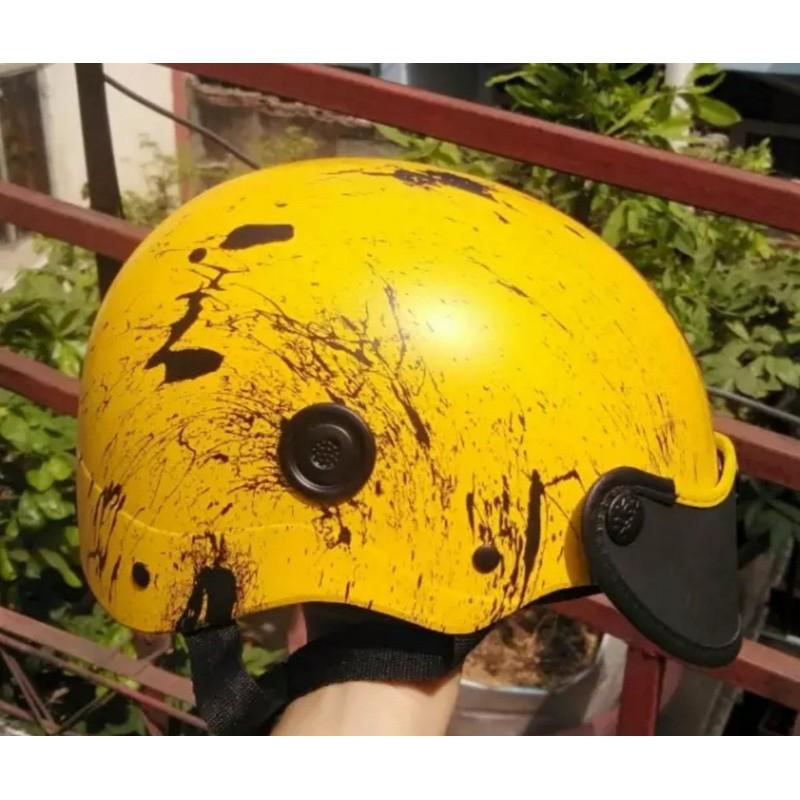 NÓN BẢO HIỂM SON NHÚNG MÀU CAO CẤP SIÊU ĐẸP SIÊU BỀN DÂY ĐEO CHẮC CHẮN,CHỊU CHẤN ĐỘNG MẠNH – nón bảo hiểm nhúng