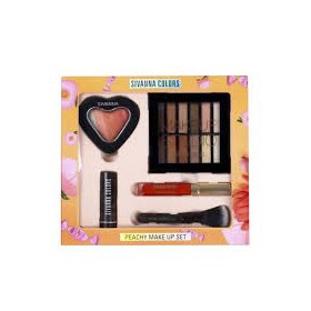 Set Trang Điểm Sivanna Colors Peachy Make Up - Set Trang Điểm Sivanna Colors Peachy Make Up