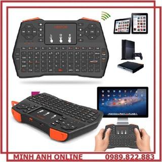 Bàn Phím Mini Không Dây Cho TV Box, Android Box Máy Tính Bảng, PC, Laptop, Mi Box, Máy CHiếu, desk computer VIBOTON i8 Plus - VIBOTON i8 Plus thumbnail