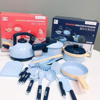 bộ đồ chơi nấu ăn - bộ nấu ăn bằng nhựa - BDCNA24-1 thumbnail