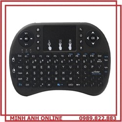 Bàn Phím Không Dây Mini Keyboard UKB 500RF Tích Hợp CHuột Sử Dụng Cho PC có hệ điều hành Windows, Mac, Linux, android TV, Smart TV,PS3, Xbox 360