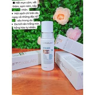 Mặt nạ thải độc detox blanc CHÍNH HÃNG - detox blanc - 9000 thumbnail
