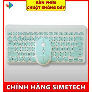 Combo Bàn Phím Và Chuột Không Dây Simetech SM9000 Chính Hãng - bàn phím, chuột không dây thumbnail