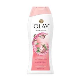 Sữa tắm dưỡng ẩm Olay Fresh Outlast Dâu tây trắng và Bạc hà nhập Mỹ mẫu mới - 700ml - Olay Fresh Outlast Dâu tây trắng và Bạc hà Mỹ