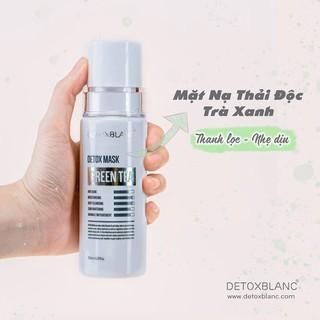 Mặt nạ sủi bọt thải độc trắng da Detox BlanC Mask than hoạt tính 150ml - Mẫu mới chính hãng - 9003 thumbnail