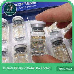 Serum trị sẹo rỗ Ronas tế bào gốc trị sẹo Ronas