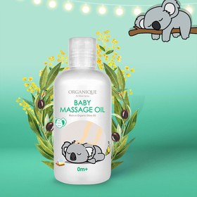 DẦU MASSAGE ORGANIQUE DÀNH CHO BÉ BABY MASSAGE OIL 200mL - HA001