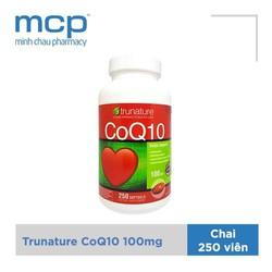 CoQ10 - Trunature CoQ10 hỗ trợ tim mạch 250 Viên
