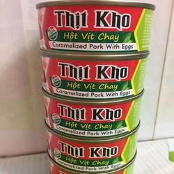 Thịt Kho Hột Vịt Chay Âu Lạc - Hộp x 150g