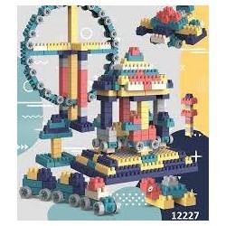 Đồ chơi Lego, Đồ Chơi Lắp Ghép 220 Chi Tiết Bằng Nhựa có Hộp Đựng Gọn